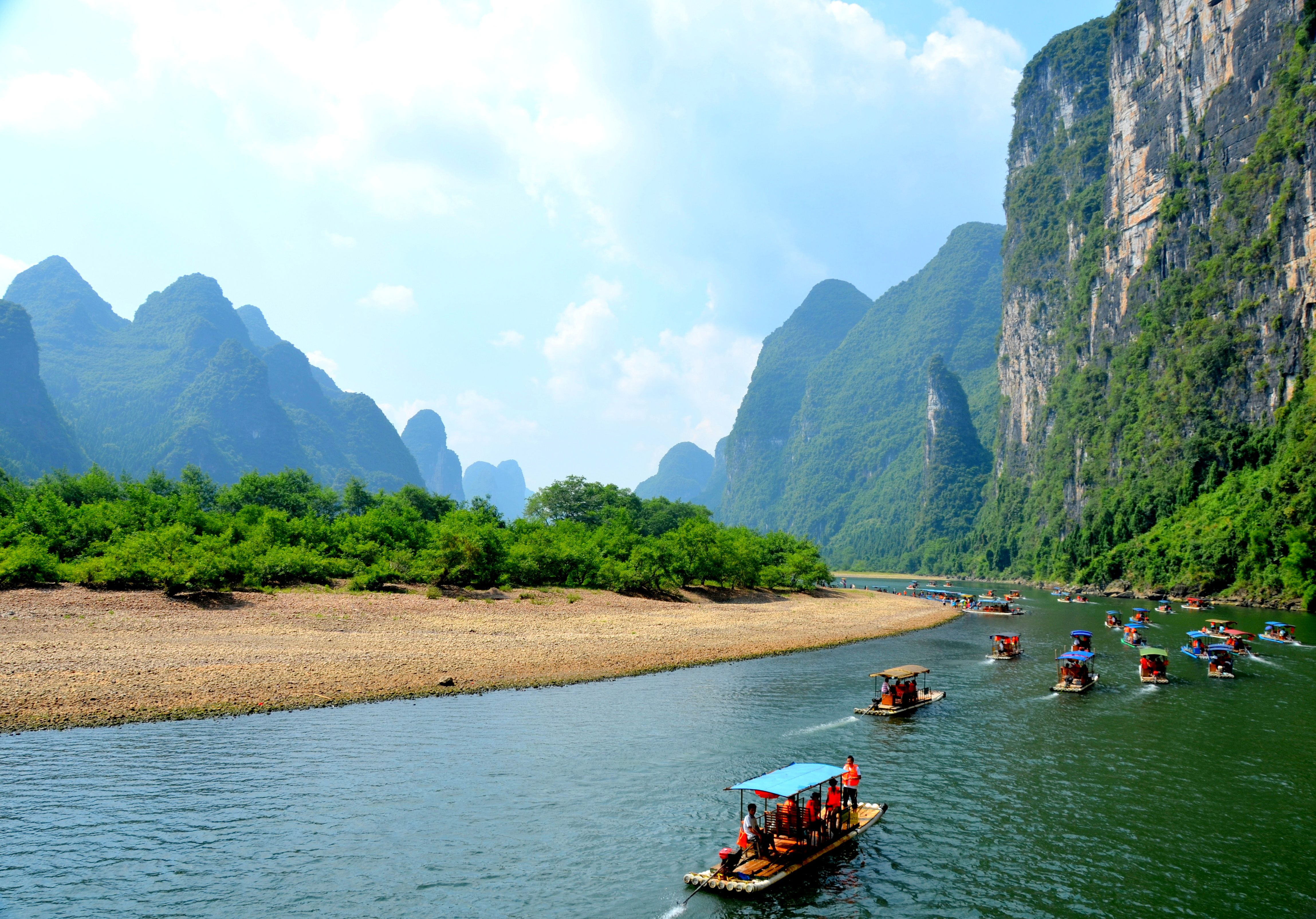 Li River One Of China's Most Popular Scenic Areas