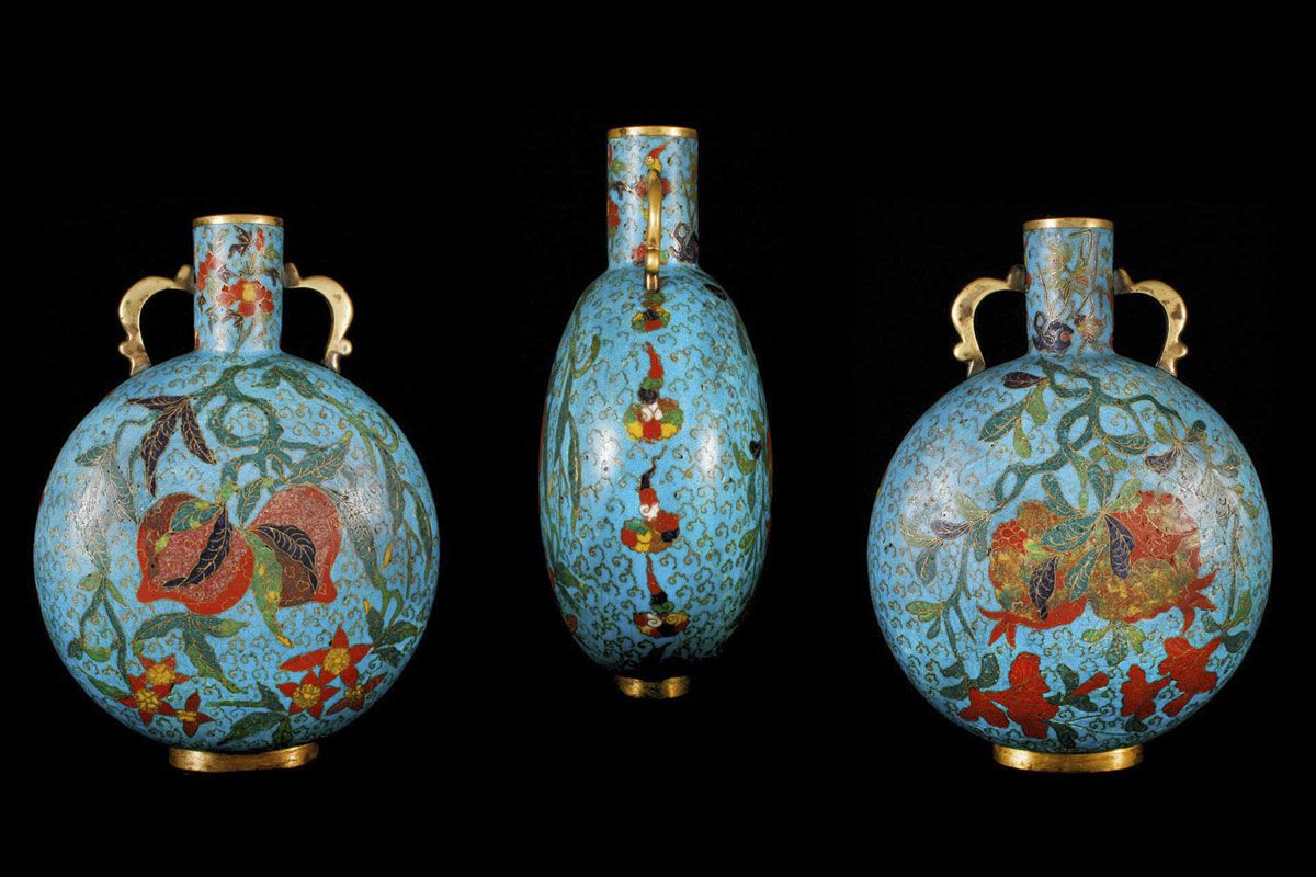 Cloisonne is a Famous Traditional Enamel Ware