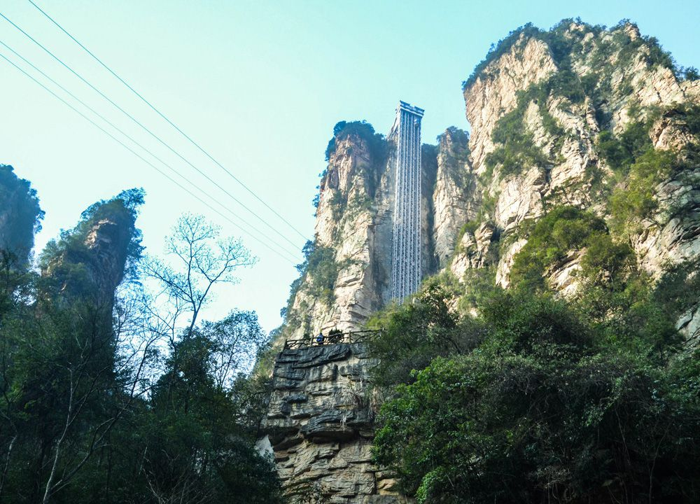 Elevator To The Zhangjiajie National Park