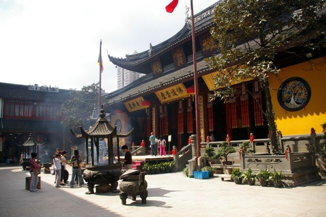 The Shanghai Jade Monastery