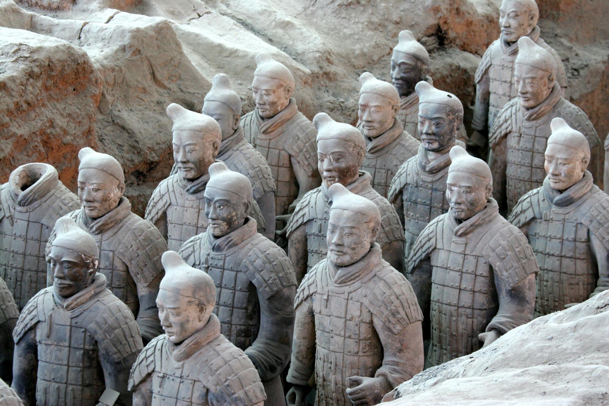 The Xian Terracotta Warriors