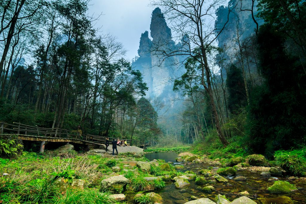 Biggest Landscape in Zhangjiajie