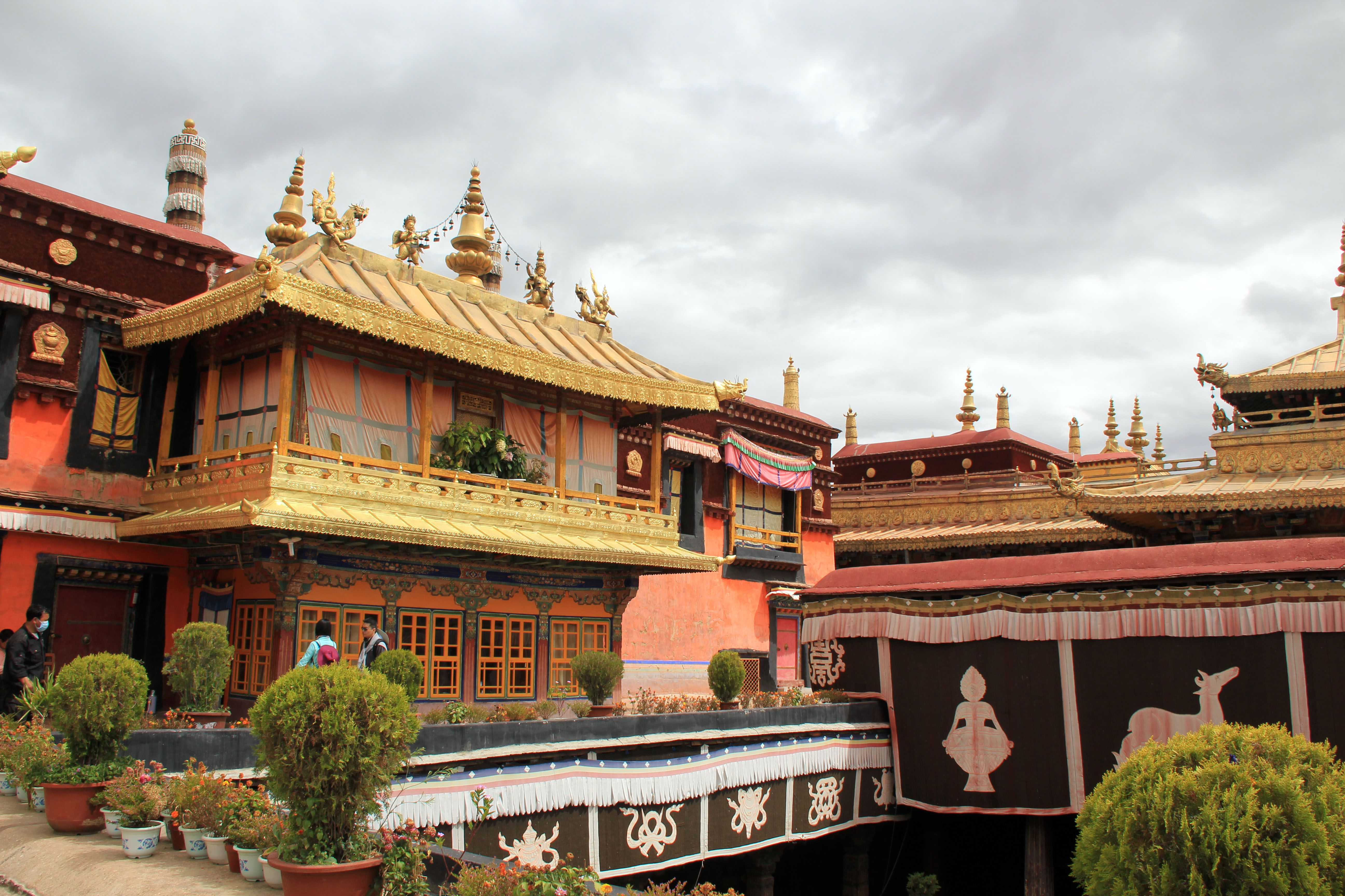 The Lhasa Jokhang Temple