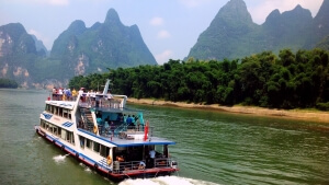 Beautiful landscape of Li river