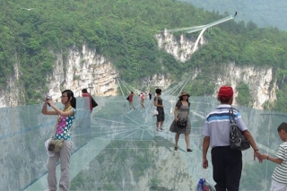 Private one day Zhangjiajie Grand Canyon-Yellow dragon cave tour